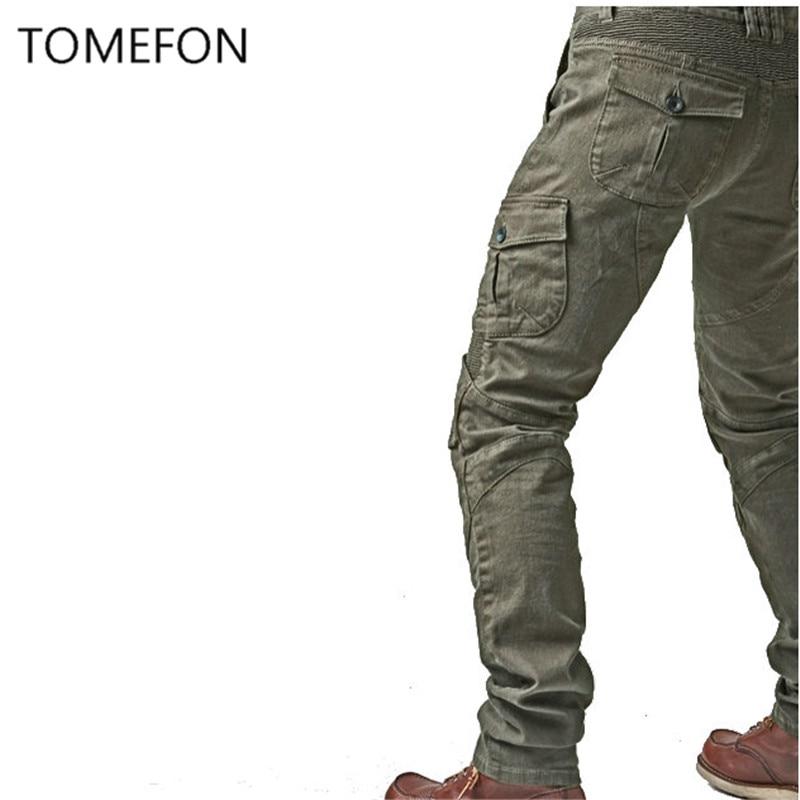 MOTORPOOL Komine UGB 02 Pantalons Jeans Moto Ride Jeans Loisirs - Accessoires et pièces de moto - Photo 2