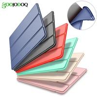 Case For IPad Mini 1 2 3 4 Smart Cover Soft TPU Silicone Back PU Leather