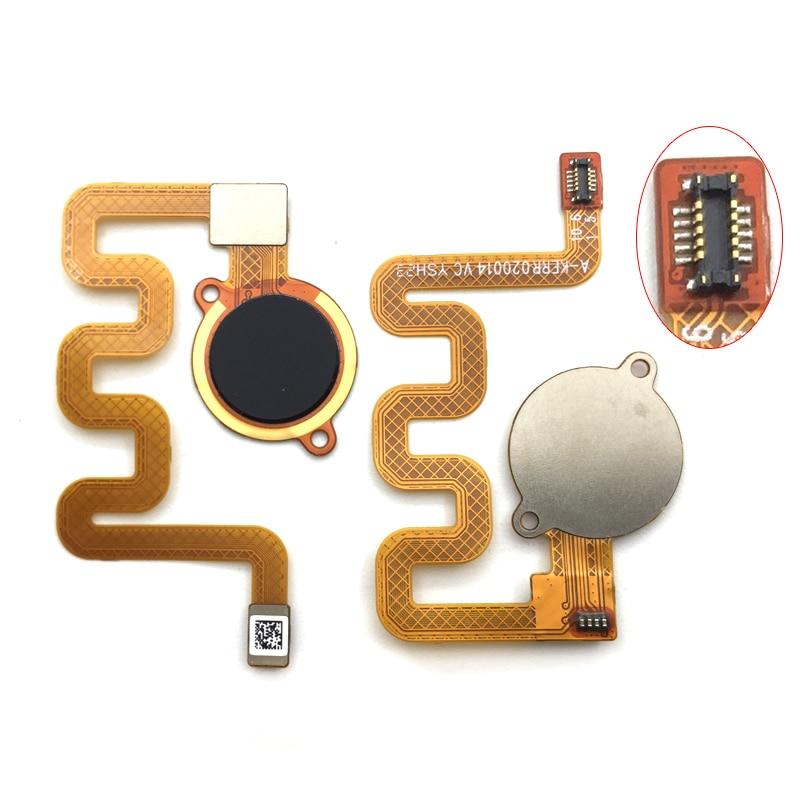 4 Color Fingerprint Home Menu Button Flex Cable For Redmi 6 Pro For Xiaomi Mi A2 Lite Replacement Parts