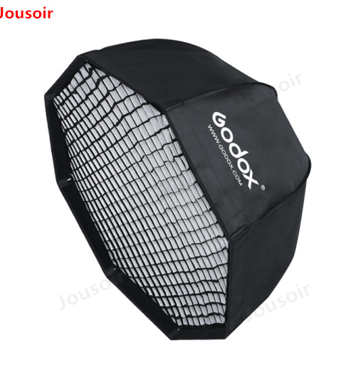 Godox SB-UE 120 cm 47in Portable Parapluie Octogonale Softbox avec Grille Nid D'abeilles pour Bowens Mont Flash de Studio Softbox CD50