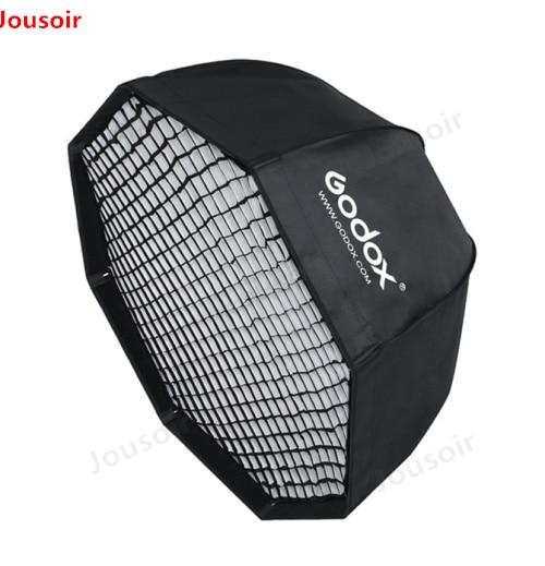 Godox SB-UE 120 cm 47in Portable Parapluie Octogonale Softbox avec Grille Nid D'abeilles pour Bowens Mont Flash de Studio Softbox CD50