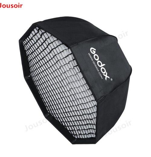 Godox SB-UE 120 cm 47in Portatile Ombrello Softbox Ottagonale con Nido D'ape Griglia per Bowens Mount Studio Flash Softbox CD50