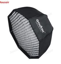 Godox SB-UE 120 см 47in Портативный восьмиугольная Зонт Softbox с Honeycomb сетки для байонета Bowens студийный софтбокс для вспышки CD50