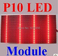 Бесплатная доставка 2015 высокая яркость p10 полу-открытых из светодиодов дисплей красного цвета p10 дисплей модуль экрана для модуля из светодиодов текстовый знак