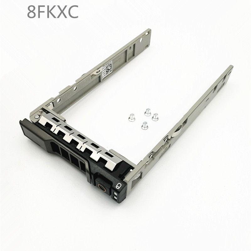 2pcs 2X  8FKXC 08FKXC 2.5'' SATA SAS Hdd Tray Caddy Bracket For  R730 R630 R730xd MD1420 MD3420, Free Shipping