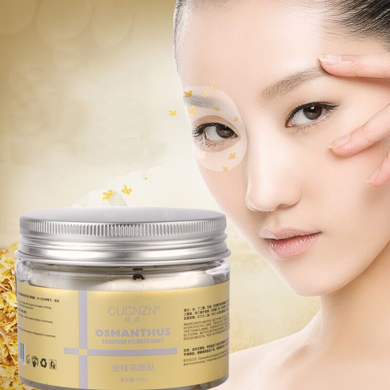 Eye Skin Care: Gold Osmanthus Eye Mask Gel Patches For The Eyes Bag