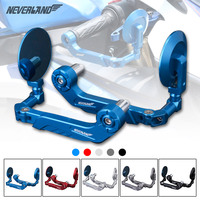 NEVERLAND CNC 7 8 22mm Adjustable Motorcycle Protector Brake Clutch Levers Protect Guard Bar Ends Handle