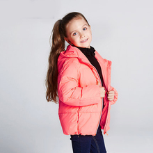 Baby Girls Snowsuit Boys Down Jacket Kids Winter Jacket for Boy Warm Winter Coats Children Parkas for Girl Fluorescent Color