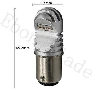 Image 2 - 1 個 can バスエラーフリー 1157 P21/5 ワット led BAY15D S25 xbd 30 ワットハイパワー車の led テールブレーキストップパーキング drl 電球 12 v 24 v