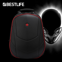 BESTLIFE Luxury 17 inch Laptop Backpack Gaming Backpack For Alienware For Omen 3D Moulding Durable Waterproof Travel Rucksack