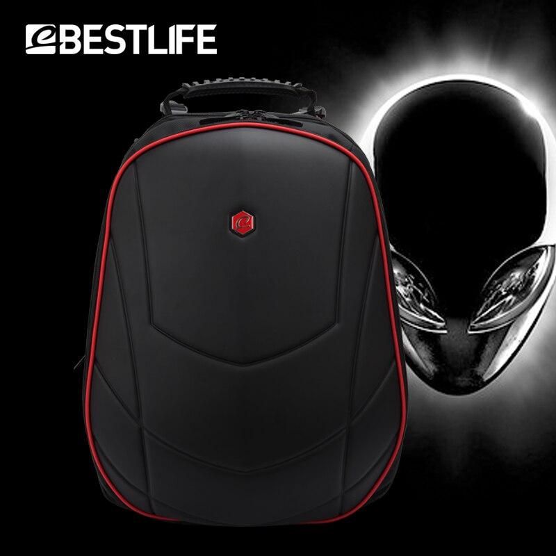 BESTLIFE Luxus 17 zoll Laptop Rucksack Gaming Rucksack Für Alienware Für Omen 3D Moulding Durable Wasserdichte Reise Rucksack