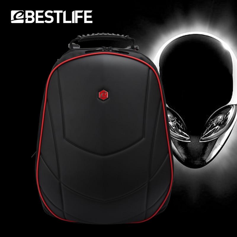 BESTLIFE de 17 pulgadas mochila para portátil de Alienware para Omen 3D moldeado Durable de viaje impermeable mochila