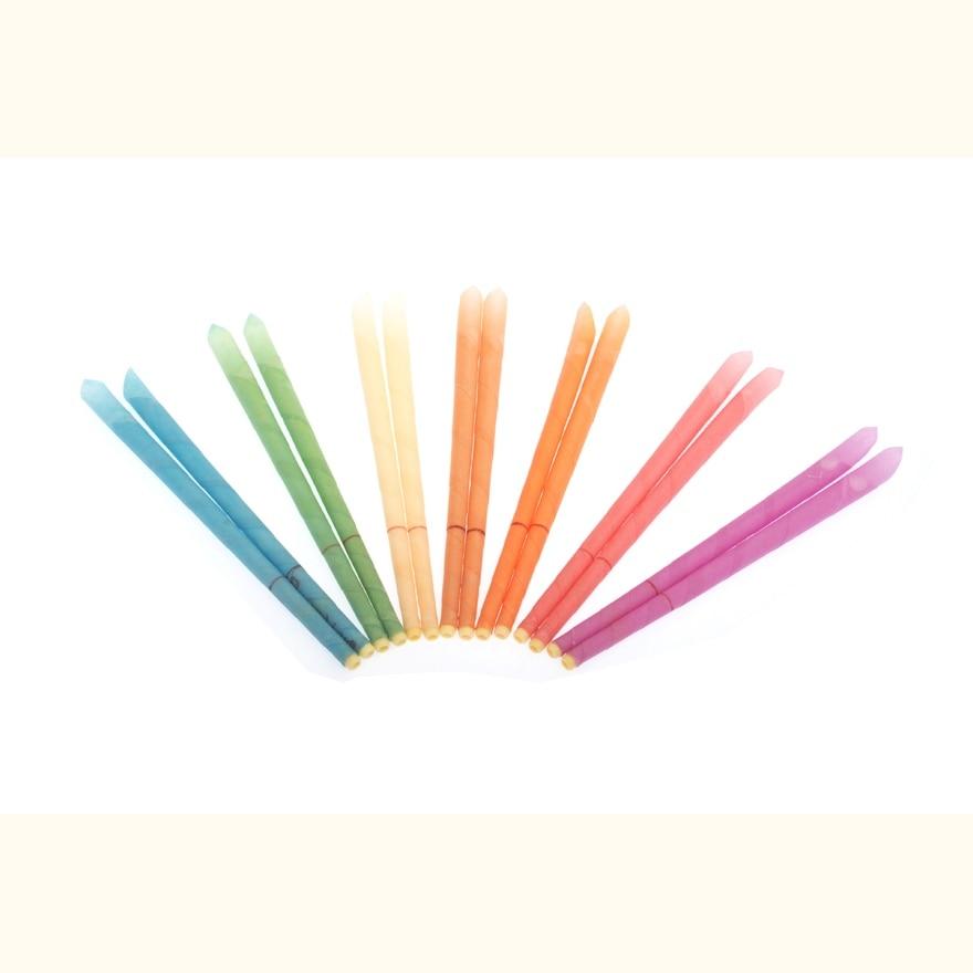 102 pz = 51 pairs fumo CE qualificato trasporto indiano aromaterapia candele dell'orecchio, senza residui chimici, sapore misto + protettiva disco-in Cura dell'orecchio da Bellezza e salute su  Gruppo 1