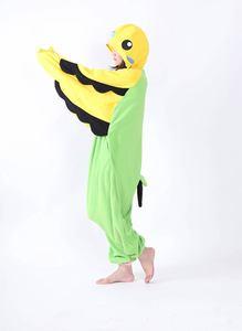 Image 3 - Erwachsene Unisex Fleece Tier Papagei Onesies Neuheit Pyjamas Pyjamas Nachtwäsche Overall Karneval Kostüme Kigurumi