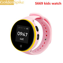 S669 S668 kids Children Smart Watch Android 1.22 inch round screen 240*240 Wristwatch GPS SOS support SIM card Smartwatch Phone(China)