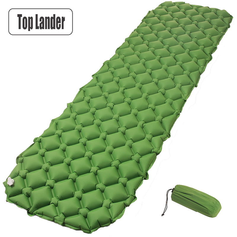 Air Mattress Sleeping Pad Camping Mat Ultralight TPU Outdoor Inflatable Bed 420g Portable Blanket Moistureproof Pad for Tent barbecue camping equipment matelas gonflable tent mat sleeping picnic blanket beach mat high quality yoga pad air inflatable