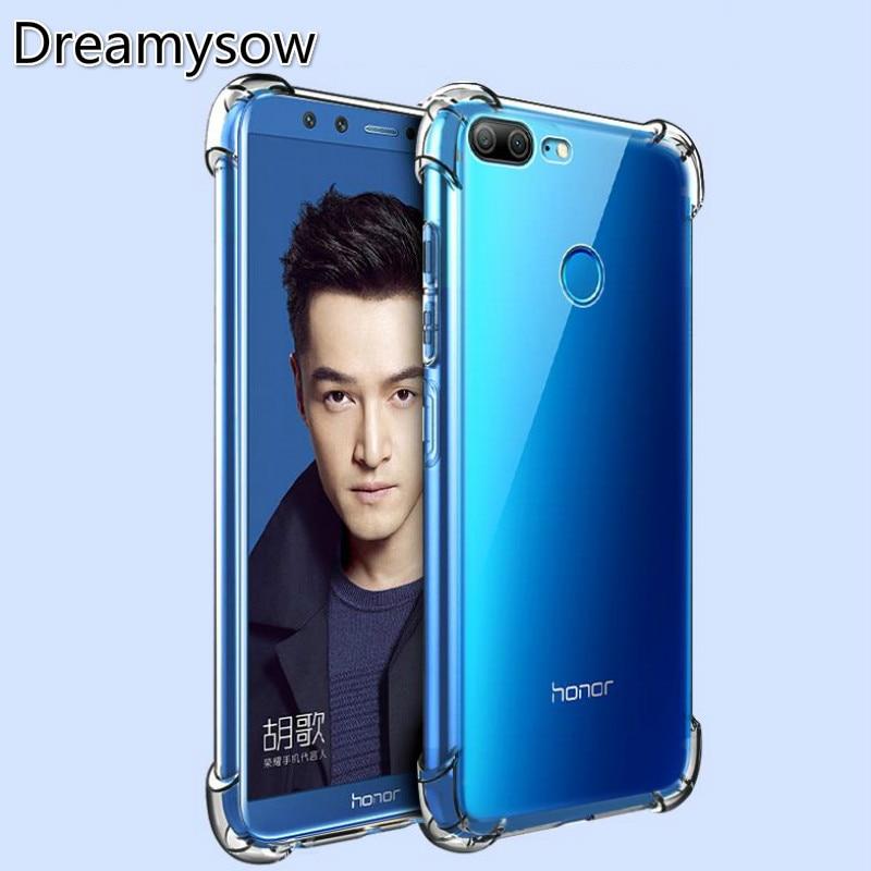 Clear Transparent TPU Silicone Matte Case for Huawei P20 Lite Pro P10 P Smart Play8 Honor 5C 6A 5X V10 7X Nova 2 S Mate10 Lite