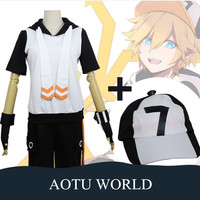 Anime Aotu World Cosplay Costume Sets Cotton Anime Cosplay Clothes Female/Male Hoodies Shorts for Women/Men High Quality Clothes