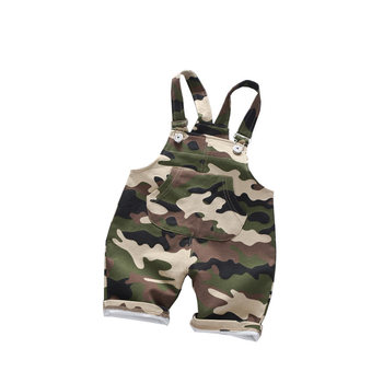 2017 Cool New Year's Eve New Infant Camouflage Trousers Pants, Sky Blue Striped Shorts Short Girls Boys Baby 1 - 3 years