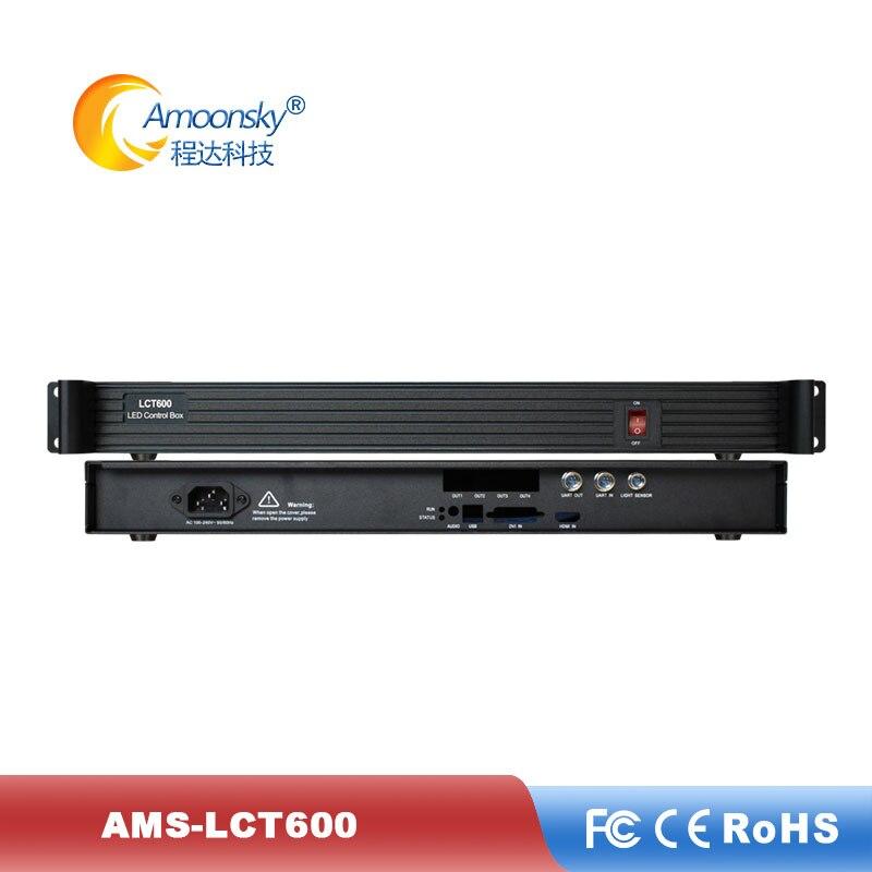 Led Screen Sending Box LCT600 For Msd600 Novastar Sending Card Original Design Led Sender Box Replace Mctrl600