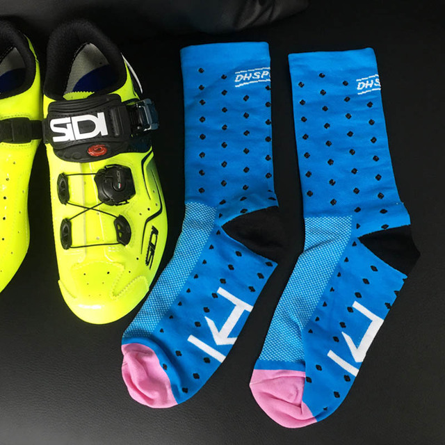 MTB cycling socks High Quality Professional Brand Sport Socks Breathable  Bicycle Socks Outdoor Sports Racing Big size
