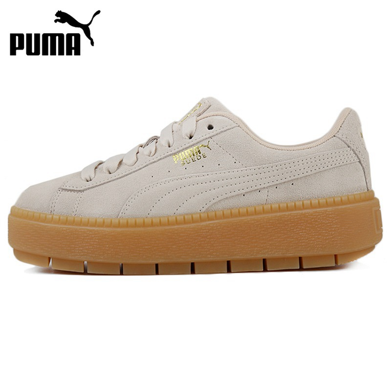 US $140.07 30% OFF|Original New Arrival PUMA Platform Trace Women's  Skateboarding Shoes Sneakers|Skateboarding| - AliExpress