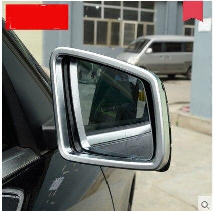 Chrome Styling Side Door Rearview Mirror Cover Trim For Mercedes Benz ML GL 2013 2014 2015 2016 Car Accessories car seat cover automobiles accessories for benz mercedes c180 c200 gl x164 ml w164 ml320 w163 w110 w114 w115 w124 t124