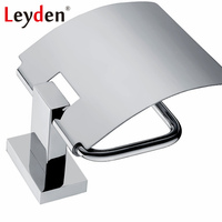 Leyden 304 Stainless Steel Bathroom Accessories Toilet Paper Holder Chrome Tissue Holder Paper Wall Mounted Bathroom Hardware