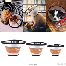 Pet Dog Cat Elizabethan Collars Wound Healing Remedy Recovery Protective Collar Collars Goods Cone E- Collar For Dogs Cats #