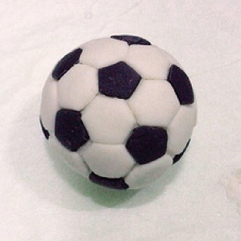 Sport Soccer Football Ball Cookie Cutter Set Fondant Cupcake Top Mold Custom Made 3D Printed Biscuit Cutter Cookie Cutter Stamp in Cookie Tools from Home Garden