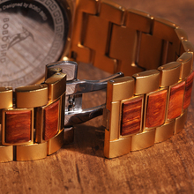 Dřevěné hodinky – Johann