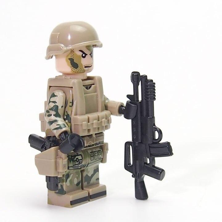 Modern Warfare Moc военные Оружие Винтовка снайперская винтовка пистолет строительных Конструкторы Совместимость legoed Игрушечные лошадки подарок