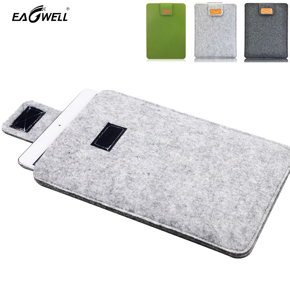 Wool Felt Tablet Bag Pouch For Apple iPad mini 1 2 3 4  Case Ultrabook Sleeve PC Cover Universal Shell Skin Capa Para Hand Bag soft prints tablet pc bag case for ipad 1 2 3 4 7 9 inch handle sleeve pouch for 7 8 tablet note for women girls kids