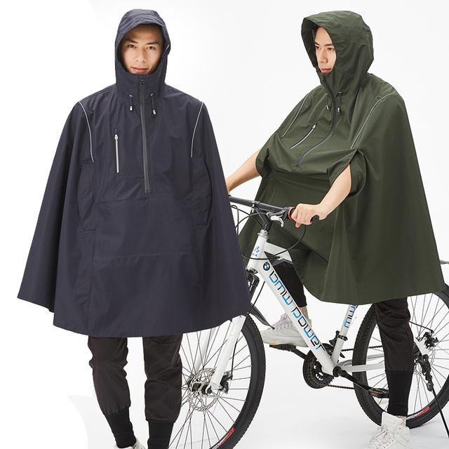 Stylish Waterproof Hooded Poncho