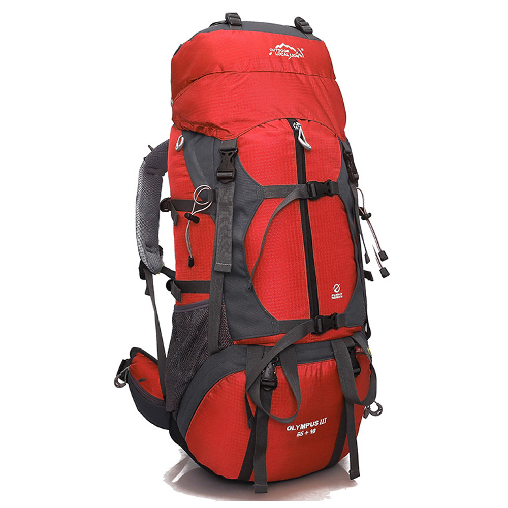 Outdoor LOCAL LION 65L Hiking Backpack Camping 65L Travel Bag Field Pack Men and Women Shoulder Rucksack Knapsack Bags atamjit singh pal paramjit kaur khinda and amarjit singh gill local drug delivery from concept to clinical applications