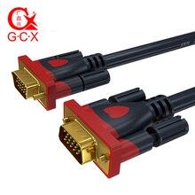 GCX Engineering Grade VGA Cable 3+9 1080P Male to Video Computer Cord For PC TV Projector Monitor SVGA 50M