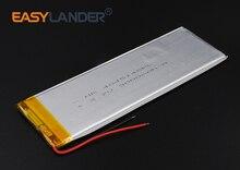 3.7V 3000mAh Rechargeable li Polymer Li-ion Battery For Tablet MID panel E-Book Power Bank Portable DVD E-book 4045145