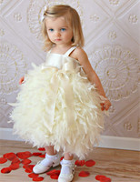 Vestidos Two Styles Little Princess Prom Gown Children Kids Flower Girl Formal Dress for Wedding Party Pageant