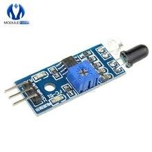 ИК инфракрасный обходом препятствий Сенсор модуль для Arduino салона автомобиля Робот 3-жильный светоотражающий фотоэлектрический