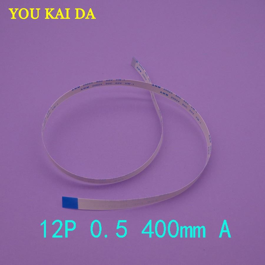 20pcs Ffc Fpc Flexible Flat Cable 05mm Pitch 12 Pin 30mm To 300mm Electronic Circuit Board Copper Film Tactile 2 100pcs New 12pin Awm 20624 80c 60v Vw 1