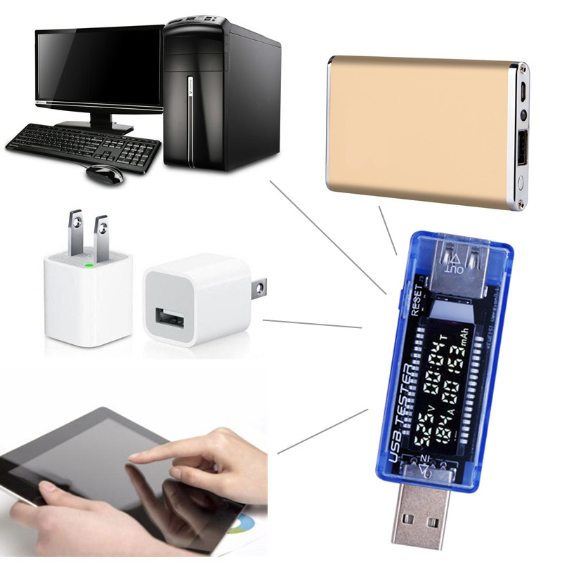 Tester per batteria mobile LCD 3 in 1 Rilevatore di potenza - Strumenti di misura - Fotografia 6