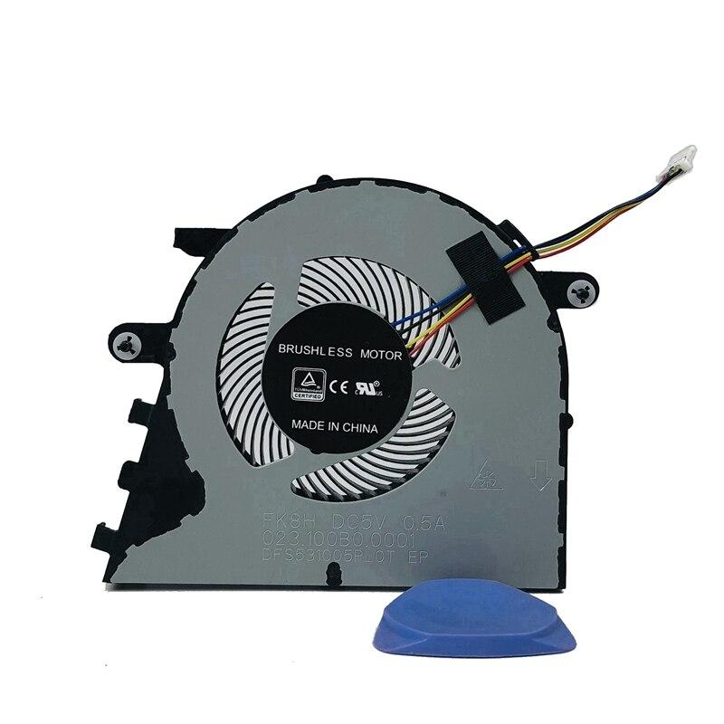 Новый оригинальный охлаждающий вентилятор для ноутбука Lenovo YangTian V330-15 V330-15ISK V330-15IKB кулер для ноутбука FK8H 023.100B0. 0001 5V0.5A