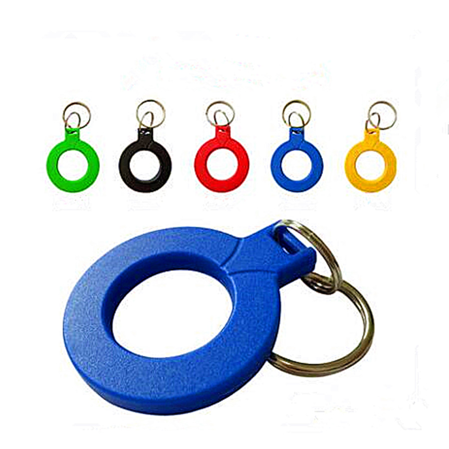 Keychain Keyfobs EM4100 Read only RFID Cards ID Card Control Access Token Tag Key Ring Proximity Card 125Khz 10Pcs/lot free shipping waterproof 10pcs 125khz rfid proximity id card em4100 keyfobs access control card rfid tag crystal