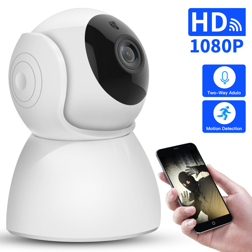 SDETER P 1080 p cámara IP inalámbrica CCTV vigilancia hogar seguridad Wifi Cámara 2 vías Audio visión nocturna bebé Monitor interior 2MP