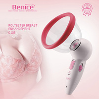 Professional Rechargeable Handheld Vacuum Beauty Firming Breast Enlargement Intrument Electric Body Massager Skin Health Care
