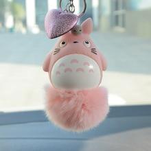 Anime Totoro Shaped Plush Keychain