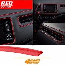 500 см ярко красный/светло голубой/оранжевый/желтый автомобильные приставки тире Gap отделкой кромочная фреза отделкой полосы DIY декоры