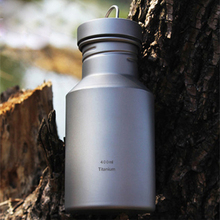 Keith 400ml Titanium Bicycle font b Bottle b font Camping Kettle My font b Bottle b