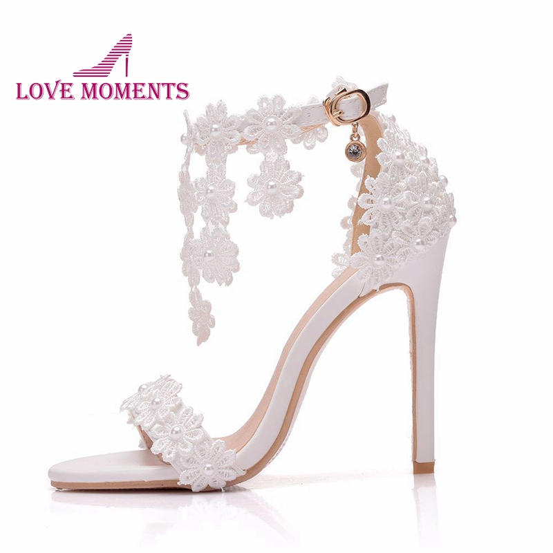 Handmade White Lace Flower Wedding