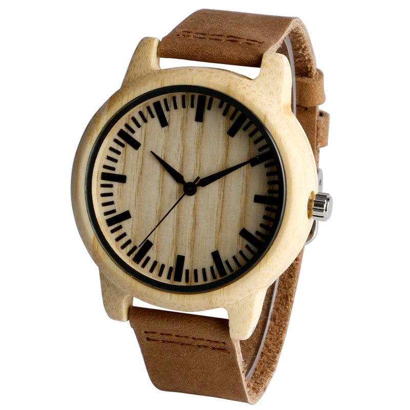Handmade Wristwatch Wooden Watches Natural Wood With